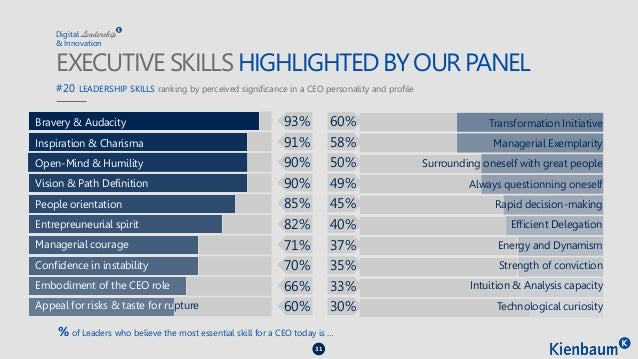 Digital & Innovation Leadership Study - Kienbaum France 2015