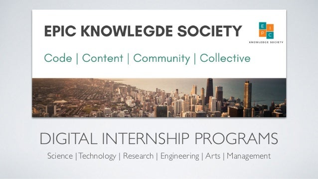 DIGITAL INTERNSHIP PROGRAMS Science |Technology | Research | Engineering | Arts | Management