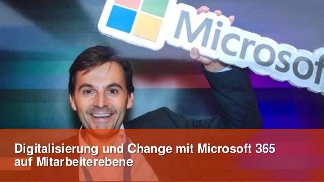 Digitalisierung und Change mit Microsoft 365 auf Mitarbeiterebene