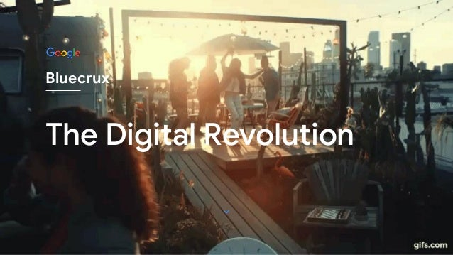 The Digital Revolution Bluecrux