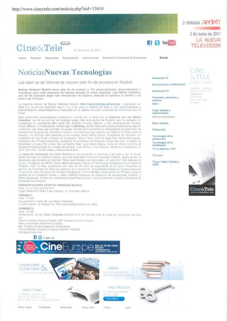 Okuri Ventures & Tetuan Valley - Menciones en medios Jun2011 parte B