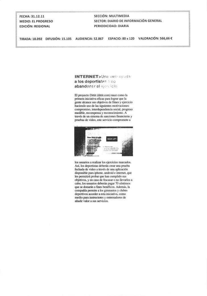 Okuri Ventures & Tetuan Valley - Menciones en medios Enero 2012