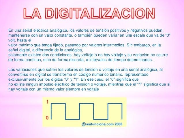 En una señal eléctrica analógica, los valores de tensión positivos y negativos pueden mantenerse con un valor constante, o...