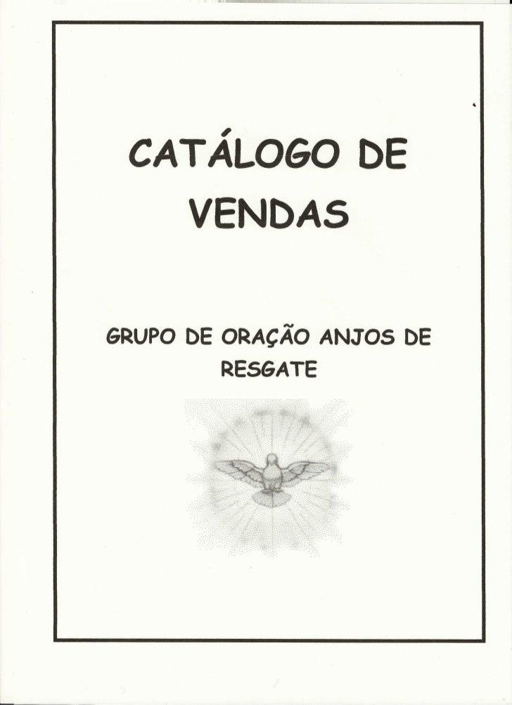 Catálogo de Vendas - Grupo de Oração Anjos de Resgate