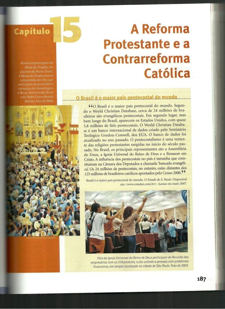 Reforma e Contra-Reforma