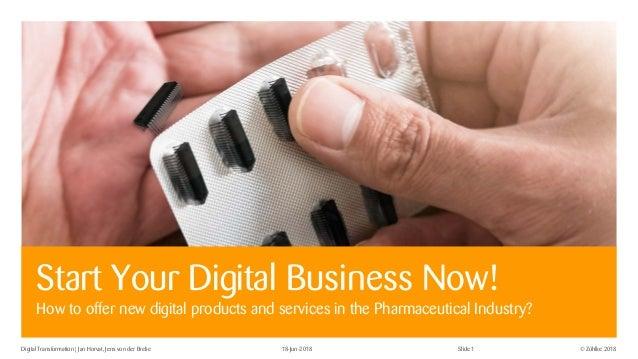 © Zühlke 2018Digital Transformation | Jan Horvat, Jens von der Brelie 18-Jun-2018 Slide 1 Start Your Digital Business Now!...