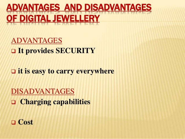 How Digital Jewelry Will Work