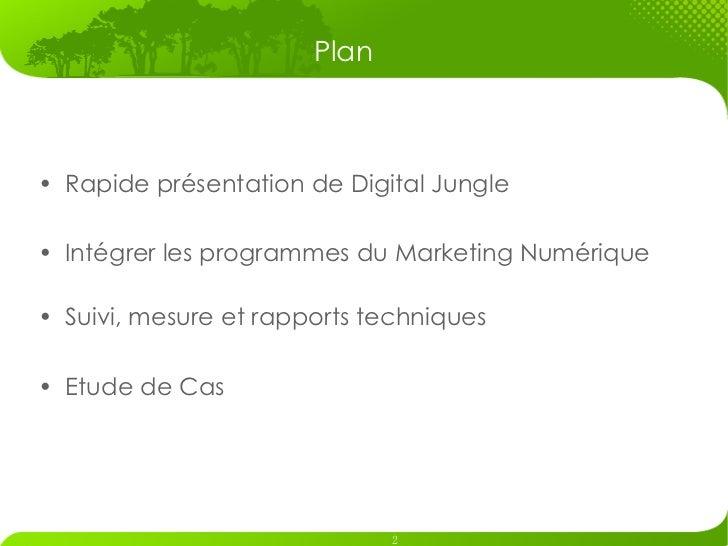 Digital Jungle Credentials (Francais) Slide 2