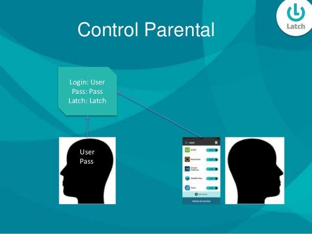 Control Parental User Pass Login: User Pass: Pass Latch: Latch
