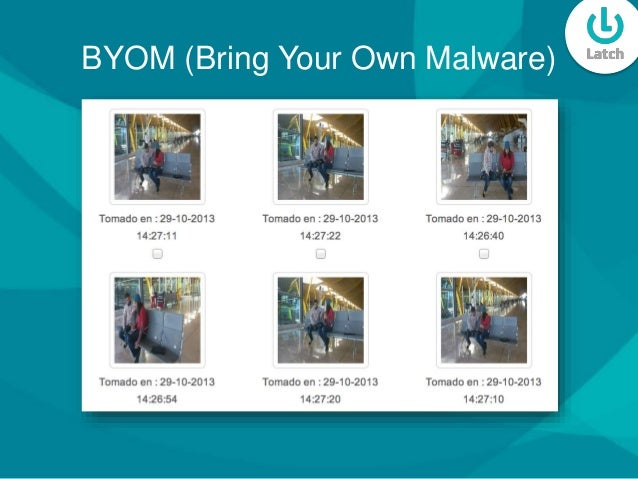BYOM (Bring Your Own Malware)