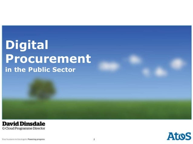 Digital Procurement  Digital Procurement in the Public Sector  2  1