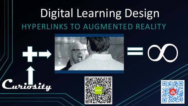 Digital Learning Design HYPERLINKS TO AUGMENTED REALITY  Curiosity