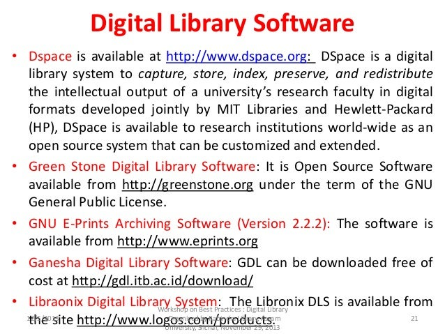 Digital Library Initiatives in India : An Overview