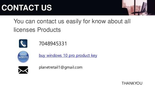 Buy Windows 10pro 32 Bit & 64 bit Licence product Key ...