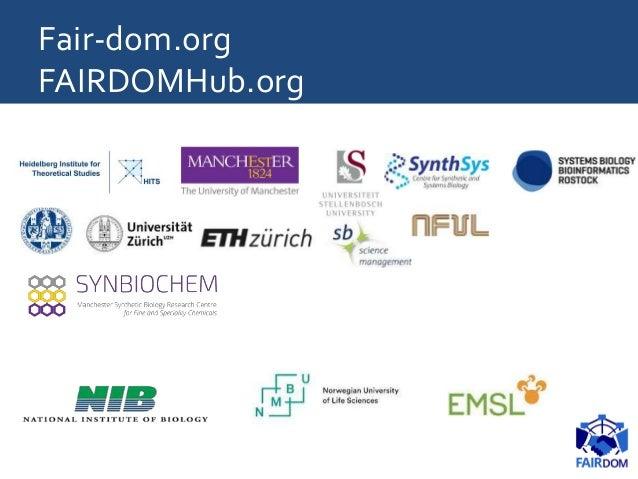Fair-dom.org FAIRDOMHub.org