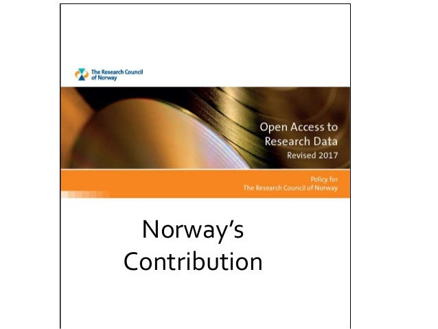 Norway's Contribution