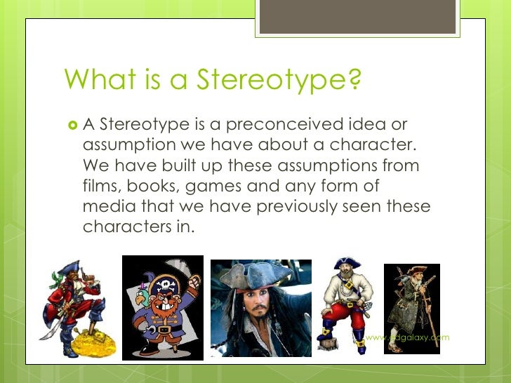explain the formation of stereotypes and A stereotype is a schema, with all the properties of schema typical stereotypes are based on such obvious characteristics as gender, race or age.