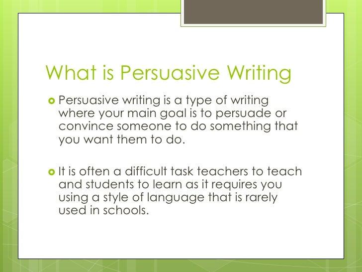 Purpose of Persuasive Essay - insight of successful writing!