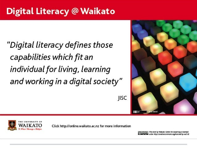Why is Digital Literacy Critical for the Future?