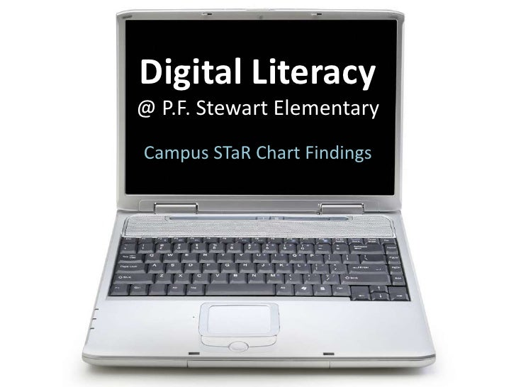 Digital Literacy @ P.F. Stewart Elementary<br />Campus STaR Chart Findings<br />