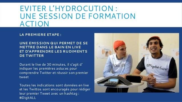EVITER L'HYDROCUTION : UNE SESSION DE FORMATION ACTION Durant le live de 30 minutes, il s'agit d' indiquer les premières a...