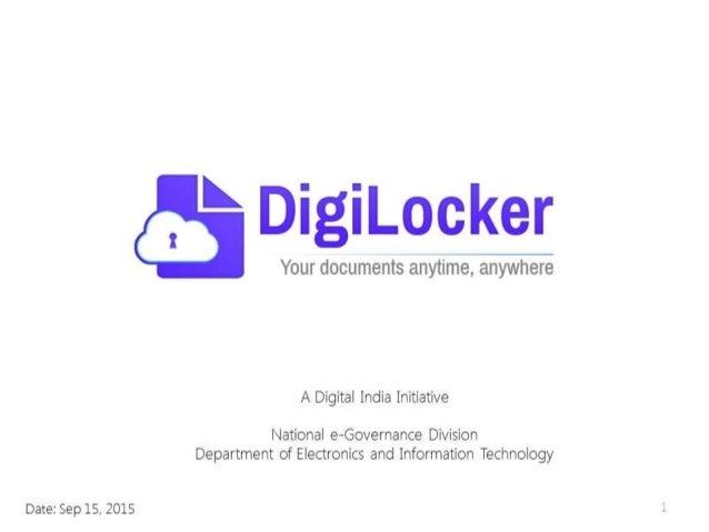 Digital Locker Intro Deck