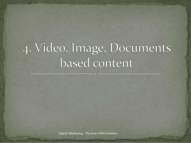 Digital Markeitng - Plumtree Web Solution