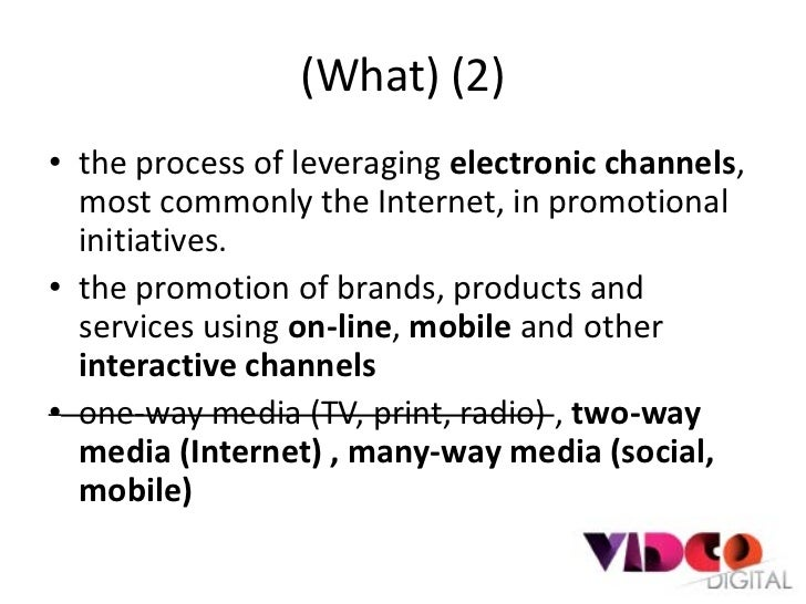 Digital marketing Slide 3