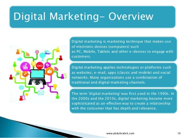 Digital Marketing - An Introduction