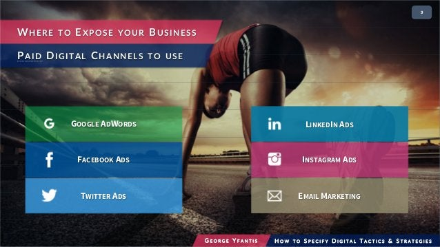 29 WHERE TO EXPOSE YOUR BUSINESS PAID DIGITAL CHANNELS TO USE FACEBOOK ADS EMAIL MARKETING INSTAGRAM ADS LINKEDIN ADS TWIT...