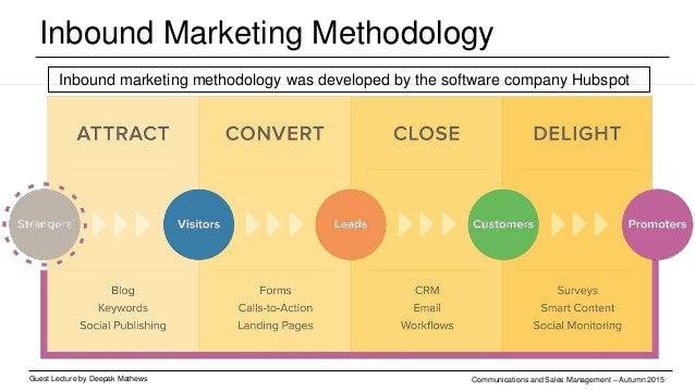 Content Marketing Guest Lecture by Deepak Mathews Communications and Sales Management – Autumn 2015