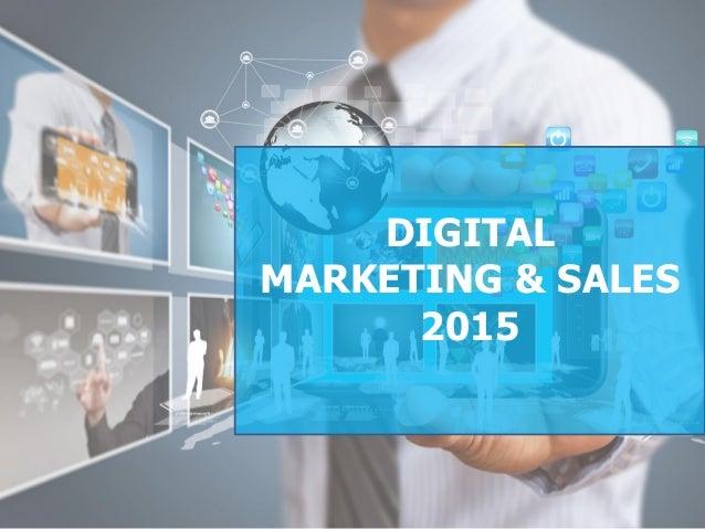 DIGITAL MARKETING & SALES 2015