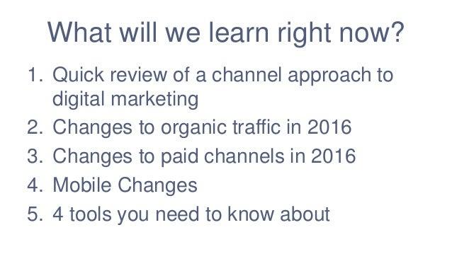 Digital Marketing for 2016 Slide 2