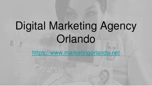 Digital Marketing Agency Orlando https://www.marketingorlando.net