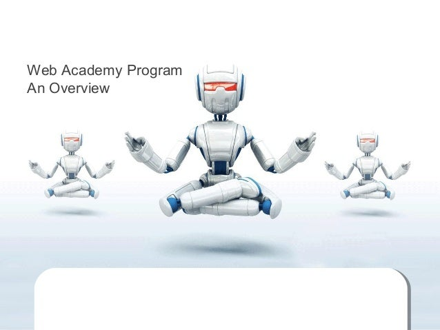 Web Academy Program An Overview