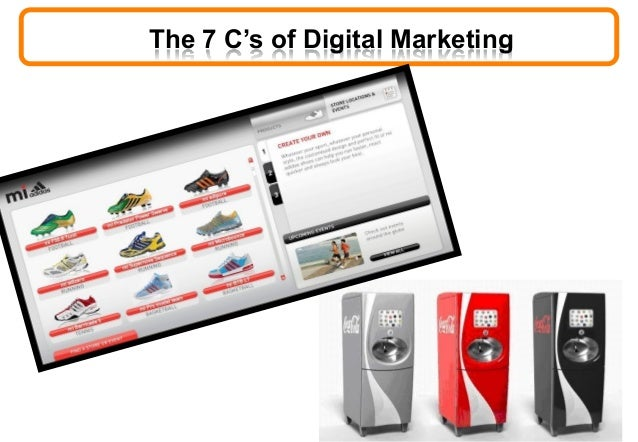 The 7 C's of Digital Marketing