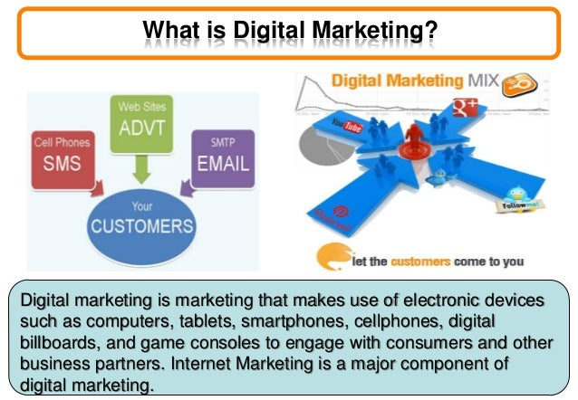 digital marketing slideshare Digital marketing basics and trends