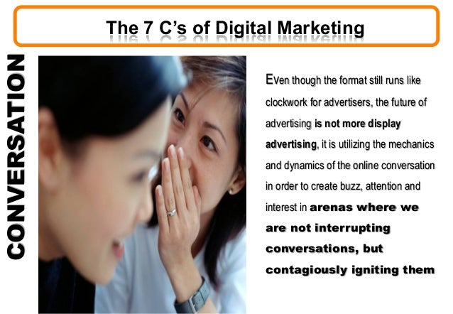 CONVERSATION Even though the format still runs like clockwork for advertisers, the future of advertising is not more displ...