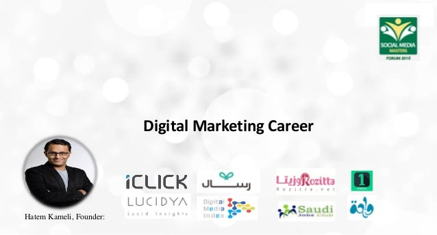 Digital Marketing Career Hatem Kameli, Founder: