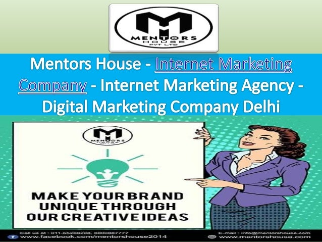 Digital Marketing Company Delhi- Mentors House