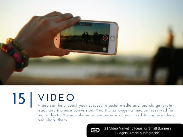 VIDEO Videocanhelpboostyoursuccessinsocialmediaandsearch,generate leadsandincreaseconversion.Andit'snolo...