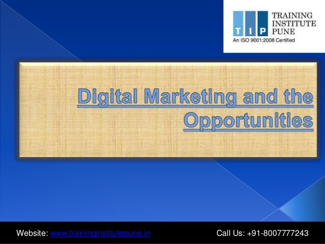 Website: www.traininginstitutepune.in Call Us: +91-8007777243