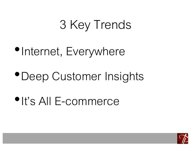 exploit ecommerce trends Ecommerce jobs tip #8: ecommerce jobs on the job sites yes, it's an obvious route to take but don't dismiss it just because it's so, well, conventional when a new vacancy opens, employers are determined to fill it as soon as possible, so blasting the job ad through all channels is a common strategy.
