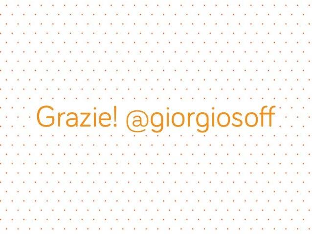 Grazie! @giorgiosoff