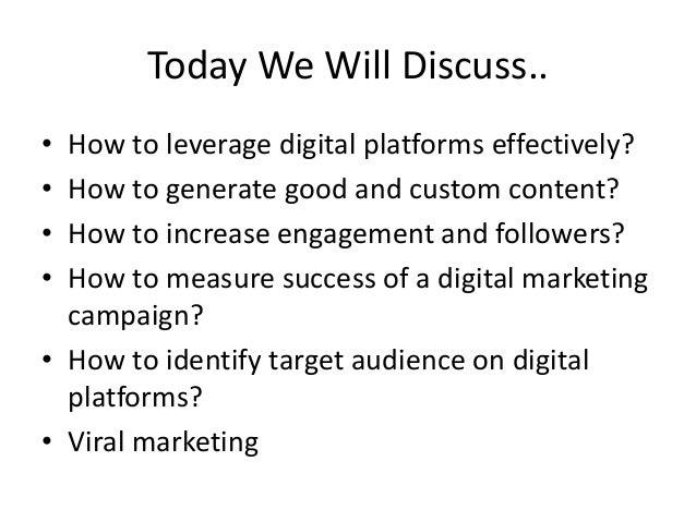 Digital Marketing for Startup & Entrepreneurs Slide 2