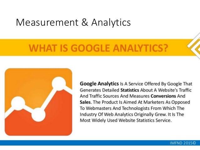 IMFND 2015© Measurement & Analytics