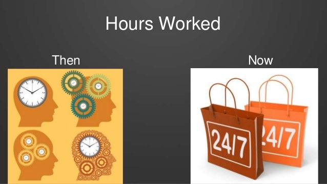 Hours Worked Then Now