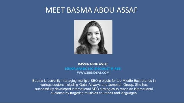 Digital Marketing: Best Practices in the MENA Region by Basma and Ammar Slide 3