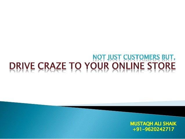 MUSTAQH ALI SHAIK +91-9620242717