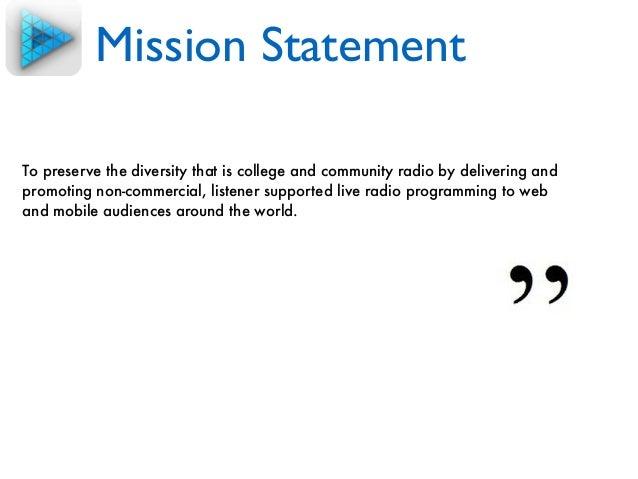 Digital marketing mission statement